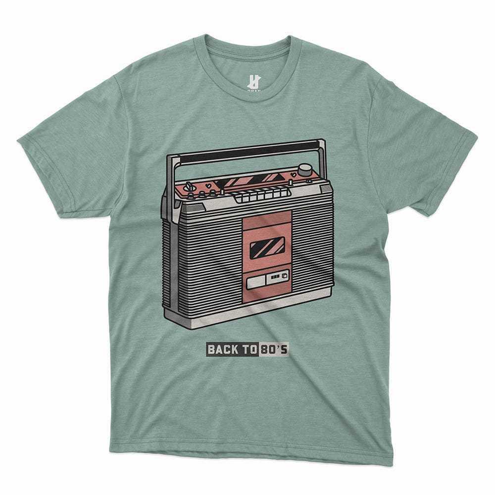 BACK TO 80'S - TEE