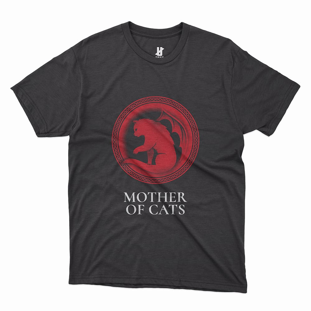MOTHER OF CATS - TEE