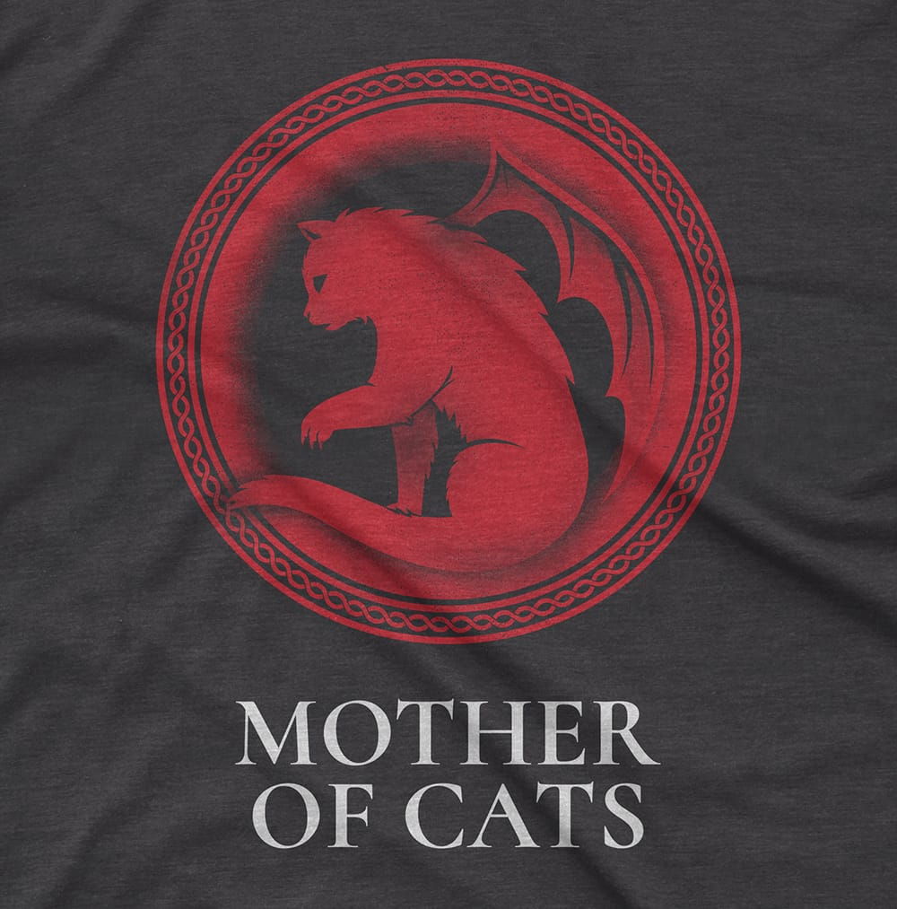 Streetwear MOTHER OF CATS - TEE hiphop dope clothing