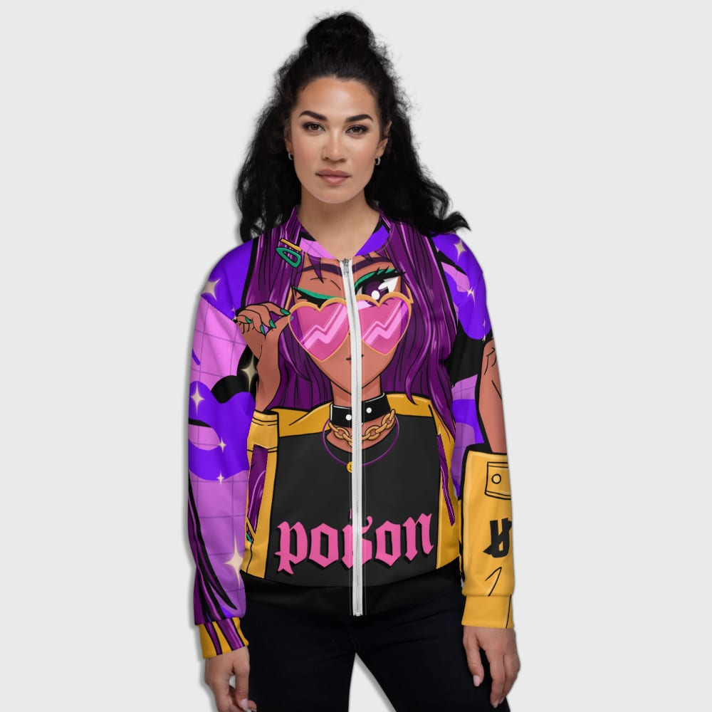 Streetwear Posion - Bomber Jacket hiphop dope clothing