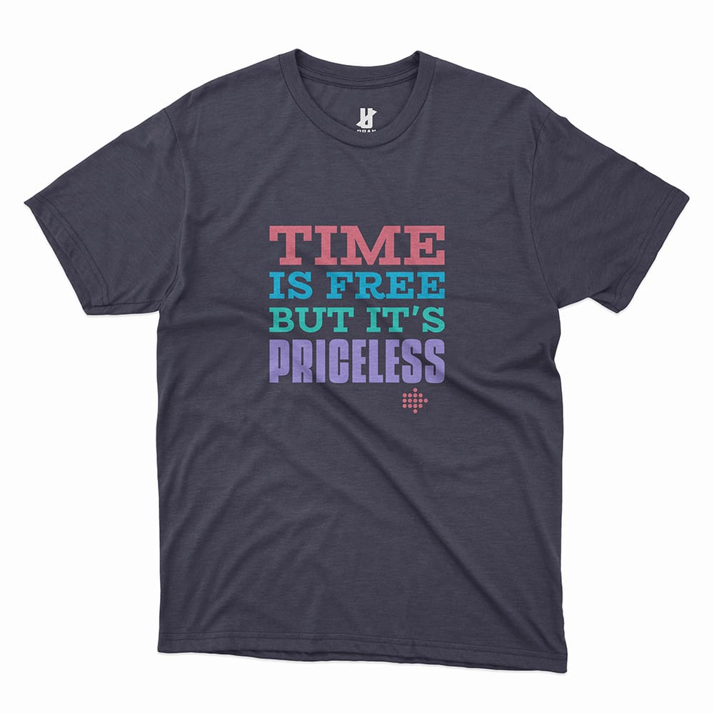 TIME IS FREE - TEE